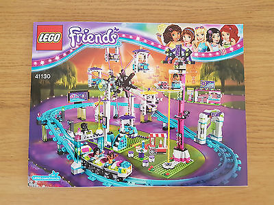 LEGO FRIENDS - 41130 Amusement Park Roller Coaster - INSTRUCTION MANUAL ONLY