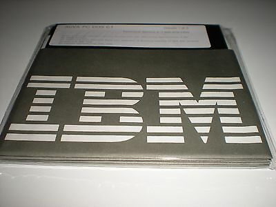 """IBM PC-Dos 6.1 on 5.25"""" HD disks. New. Disks only. Genuine. Similar to MS-Dos."""