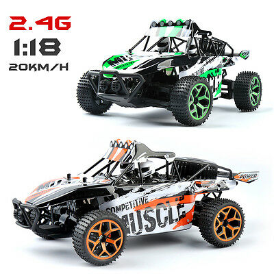 2.4G 1/18 Radio Remote Control RC Off Road Buggy Truck Racing Car Monstertruck