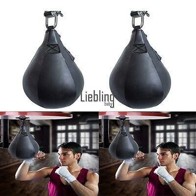 Boxing Punching Bags Training Speedball Fitness Muay Thai Speed Bag W E A LEBB