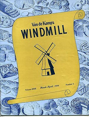 "Vintage VAN DE KAMP'S ""WINDMILL"" Employee Magazine - March/April 1954"