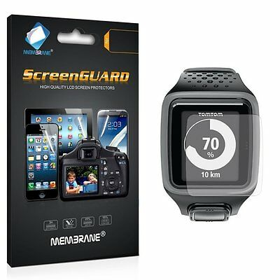 3 Clear Front Anti Scratch Screen Cover for TomTom Spark GPS Smart Watch