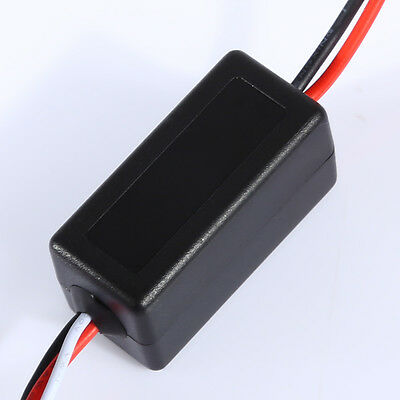 12V Car LED DRL Daytime Running Light Relay Harness Auto On Off Switch Control