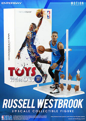 ENTERBAY MM-1203 RUSSEL WESTBROOK 1/9 NBA COLLECTION Preorder