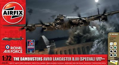Airfix 1:72 The Dambusters Avro Lancaster B.Iii (Special) Plastic Model Kit  AF-
