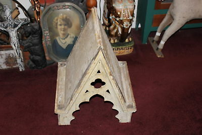 Antique Wood Cupola-Religious Look-Country Decor-Architectural-Aged Worn Wood