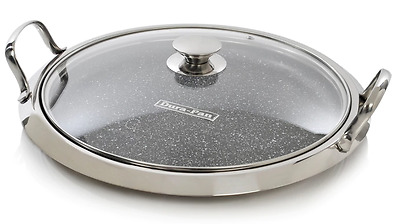 Curtis Stone Nonstick 12in Multipurpose Pan with Lid