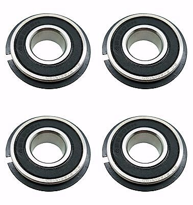 Four (4) Go Kart / Lawnmower Bearings w/Snap Ring 99502H NR 5/8 x 1-3/8 x .433