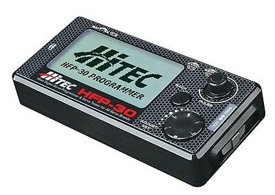 Hitec 44427 HFP-30 Field Servo Programmer / Program