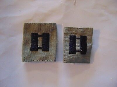 Us Military Insignia Patch Sew On Set Of 2 Rank Air Force Captain