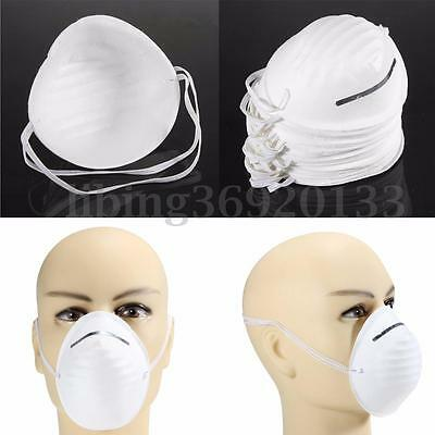 100pcs Disposable Dust Face Mask Mouth Antidust Filter Medical Safety Respirator