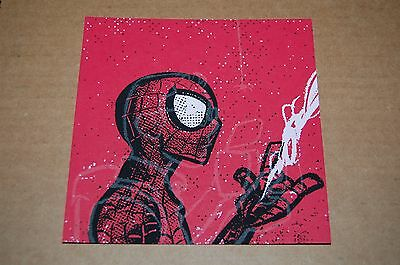 Spider-Man Art Print Peter Parker Glow in the Dark GID Movie comic