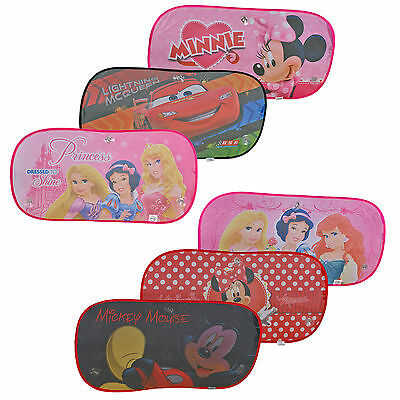 Large 80x40cm Rear Car Window Disney Sun Shade Blind Visor Child Baby Protector