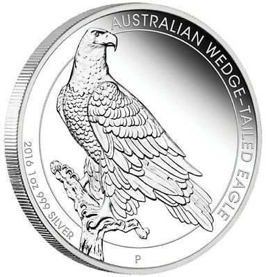 2016 Wedge Tailed Eagle 1oz Silver Proof Coin