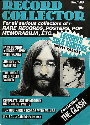 UK Record Collector Magazine Issue 15 November 1980 (Issue now out of print)