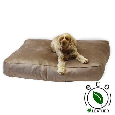 FAUX SUEDE SLUMBER PET BED, Very Soft and comfortable ,Dog Bed, 3 Sizes, Rebound