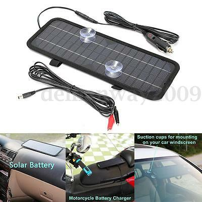 12V 4.5W Power Solar Panel Trickle Battery Charger Car Boat Charge Power Supply