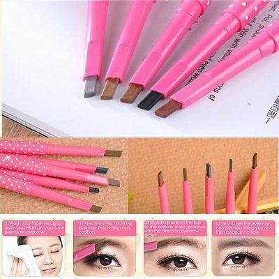 Waterproof Eye Brow Eyeliner Eyebrow Pen Pencil Makeup Beauty Kit Cosmetic Tool