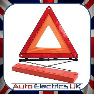 Reflective Car Warning Triangle Foldable Breakdown Eu Emergency Sign For Van Uk