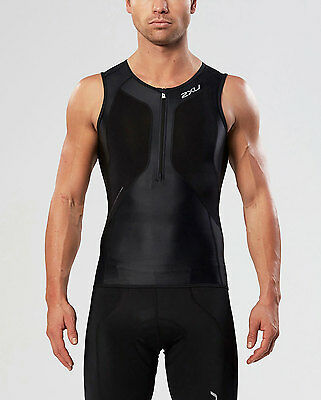 NEW 2XU G:2 Compression Tri Singlet Mens Shirts