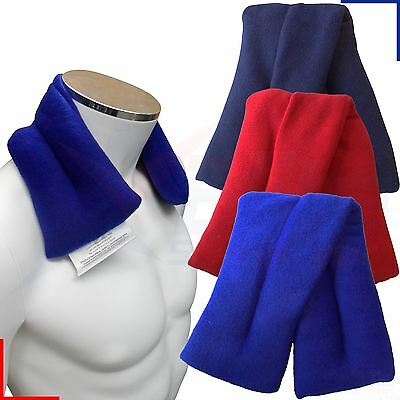 Hot or Cold Fleece Wheat Heat Pack Bag Muscle Joint Pain Relief