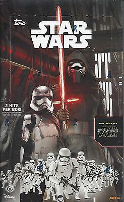 Topps Star Wars The Force Awakens Trading Cards Hobby Box
