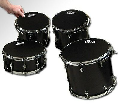 SoundOffs SO2346 Standard Pack Drum Mutes