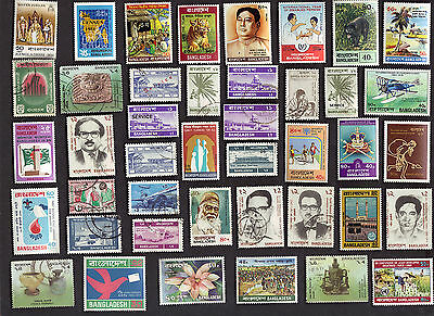 50 ALL DIFFERENT BANGLADESH Pictorial & Commemorative STAMPS