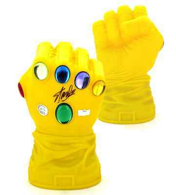 Stan Lee Autographed/Signed Iconic Marvel Infinity Gaunlet