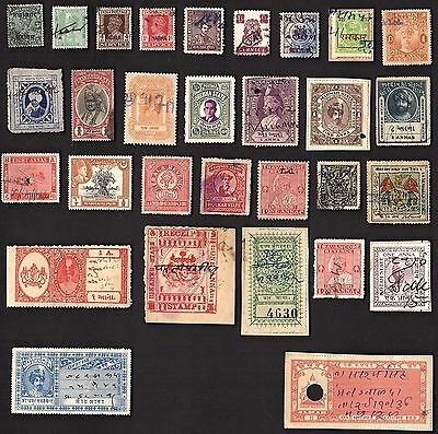 30  Stamps Each From A Different Indian State