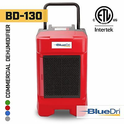 BlueDri® BD130P 225PPD High Performance Industrial Commercial Dehumidifier Red