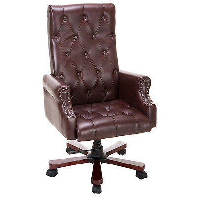 High Back Deluxe Guest Office PU Leather Accent Chair Modern Furniture New