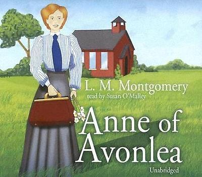 NEW Anne of Avonlea By Lucy Maud Montgomery Audio CD Free Shipping
