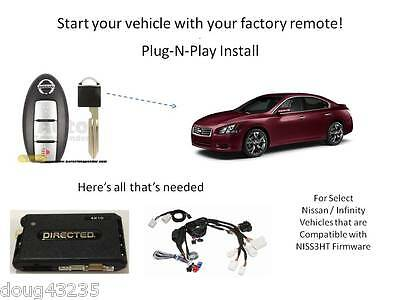 Plug-N-Play Remote Starter for select Nissan / Infiniti- Directed 4X10 -THNISS3C