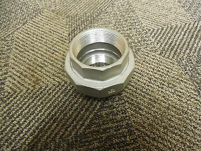 "No Name Pipe Union Coupler 2"" Npt 304 Stainless S/s 150 New"