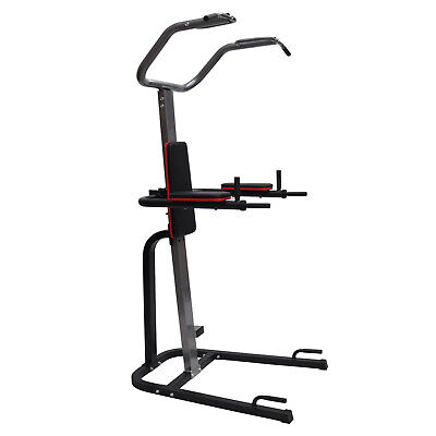 Foldable Power Tower Chin Up Station - Dip - Pull Up - Vkr Knee Raise - Home Gym