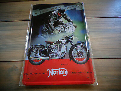 Norton  Motorcycle Tin Sign