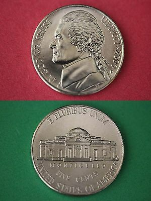 2000 P Jefferson Nickel Brilliant Uncirculated From Mint Set Buy 1 Get 1 FREE