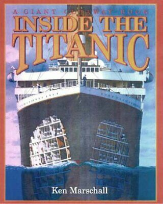Inside the Titanic (A Giant Cutaway Book) by Brewster, Hugh Hardback Book The