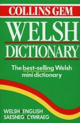 Welsh Dictionary (Collins Gem) (Collins Gems) Paperback Book The Cheap Fast Free