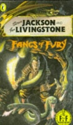 Fangs of Fury (Puffin Adventure Gamebooks), Livingstone, Ian Paperback Book The