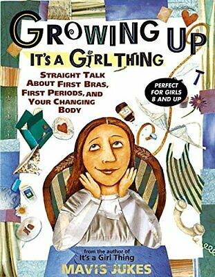Growing Up: It's a Girl Thing by Jukes, Mavis Paperback Book The Cheap Fast Free