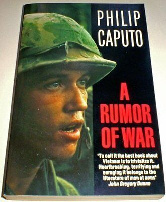 A Rumor of War, Caputo, Philip Paperback Book The Cheap Fast Free Post