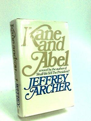 Kane and Abel by Archer, Jeffrey Hardback Book The Cheap Fast Free Post