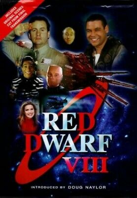 Red Dwarf VIII : The Official Book by Grant, Rob Hardback Book The Cheap Fast
