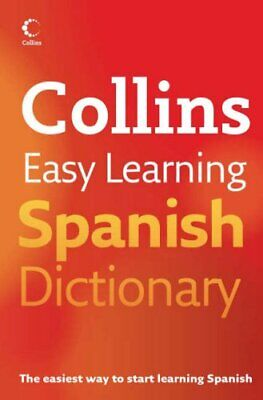 Collins Easy Learning Spanish Dictionary (Collins Easy Learning Spa... Paperback
