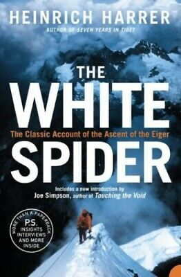 The White Spider by Harrer, Heinrich Paperback Book The Cheap Fast Free Post