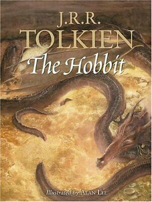 The Hobbit, Tolkien, J. R. R. Hardback Book The Cheap Fast Free Post
