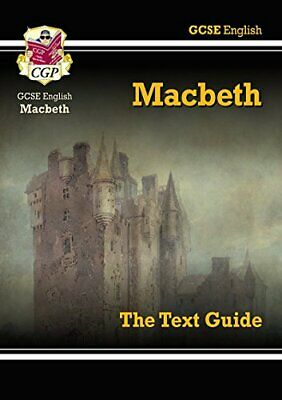 GCSE English Shakespeare Text Guide - Macbeth by CGP Books Paperback Book The