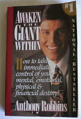Awaken the Giant within: How to Take Immediate ... by Robbins, Anthony Paperback